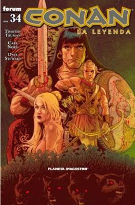 Conan. La Leyenda (Grapa 28-116 pp) #34