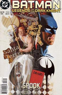 Batman: Legends of the Dark Knight Vol. 1 (1989-2007) (Comic Book) #103