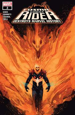 Cosmic Ghost Rider Destroys Marvel History (2019) (Comic Book) #3