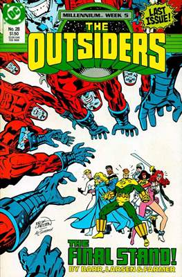 The Outsiders (1985-1988) (Comic Book) #28