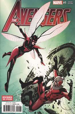 The Avengers Vol. 7 (2016-...Variant Covers ) (Grapa) #1.6