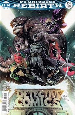 Detective Comics Vol. 1 (1937-2011; 2016-) (Comic Book) #934
