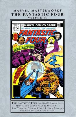 Marvel Masterworks: The Fantastic Four (Hardcover) #16