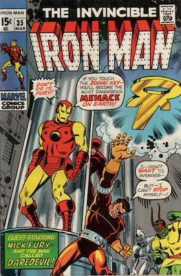Iron Man Vol. 1 (1968-1996) (Comic book) #35