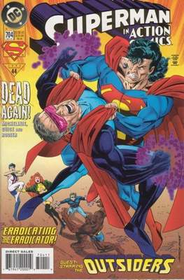 Action Comics Vol. 1 (1938-2011; 2016-) (Comic Book) #704