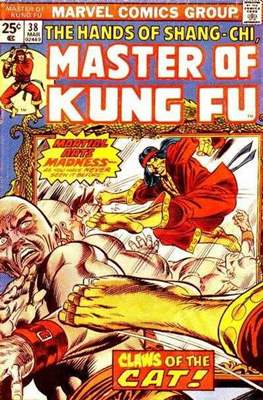 Master of Kung Fu (Comic Book. 1974 - 1983. Continued from Special Marvel Edition #16) #38