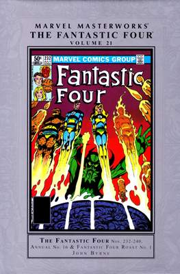 Marvel Masterworks: The Fantastic Four (Hardcover) #21
