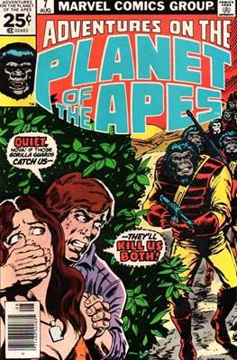 Adventures on the Planet of Apes #7