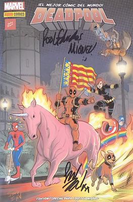 Deadpool. Edición Especial para Coleccionistas. Portada Valencia #