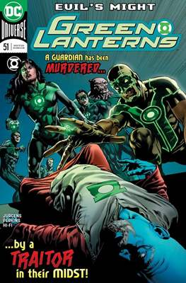 Green Lanterns Vol. 1 (2016-2018) (Comic-book) #51