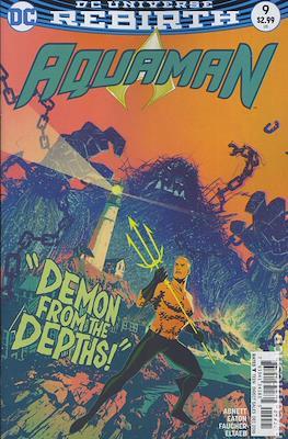 Aquaman Vol. 8 (2016-2021) Variant Cover) #9