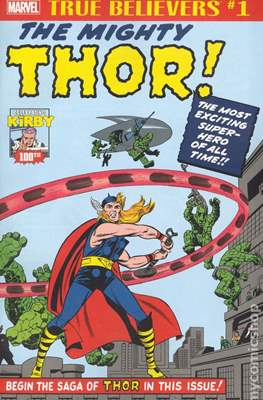 True Believers Kirby 100th Introducing The Mighty Thor