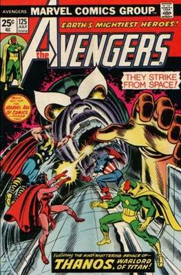 The Avengers Vol. 1 (1963-1996) (Comic Book) #125