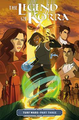 The Legend of Korra: Turf Wars (Softcover) #3