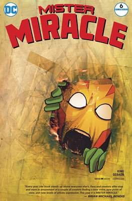Mister Miracle (Vol. 4 2017- Variant Covers) #6.1