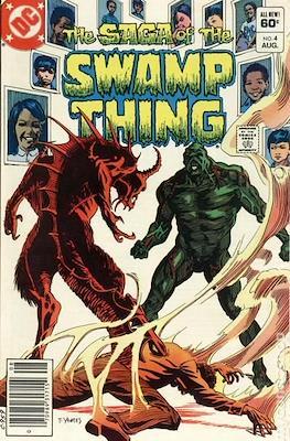 Swamp Thing (1982-1996) #4