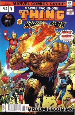 Marvel 2-In-One (2018-2019 Portada variante) (Grapa) #1.2
