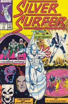 Silver Surfer Vol. 3 (1987-1998) #17