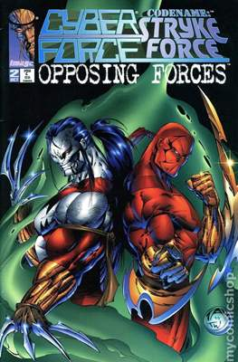 Cyberforce / Codename: Strykeforce: Opposing Forces (1995) (Grapa) #2
