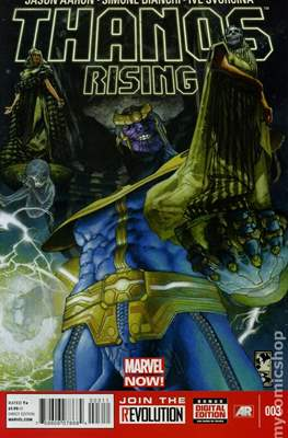 Thanos Rising (Comic Book) #3