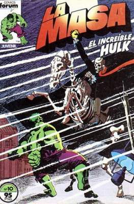 La Masa. El Increíble Hulk (Grapa 36-32 pp) #10