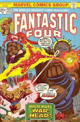 Fantastic Four Vol. 1 (1961-1996) (saddle-stitched) #137