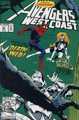 West Coast Avengers Vol. 2 (Comic-book. 1985 -1989) #84