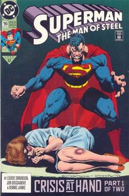 Superman: The Man of Steel (Comic book) #16