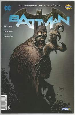 Batman: El tribunal de los buhos (Grapa) #6