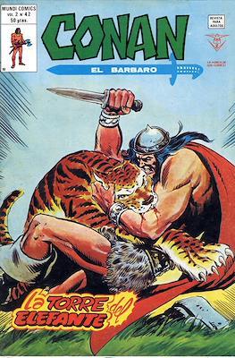 Conan el Bárbaro Vol. 2 (Grapa) #42