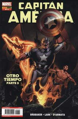 Capitán América Vol. 7 (2005-2011) (Grapa) #5