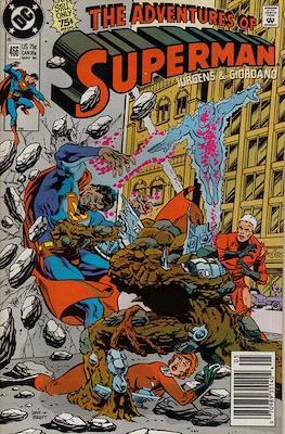 Superman Vol. 1 / Adventures of Superman Vol. 1 (1939-2011) (Comic Book) #466
