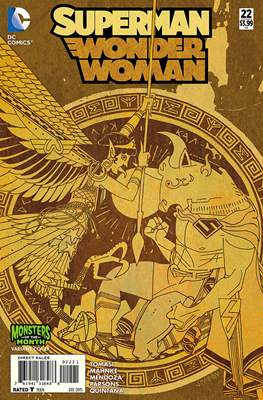 Superman / Wonder Woman (2013-2016 Variant Covers) (Comic Book) #22.1
