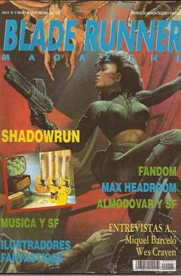 Blade Runner Magazine (Grapa) #5
