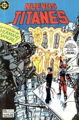 Nuevos Titanes Vol. 1 (1984-1988) (Grapa 40 pp) #36