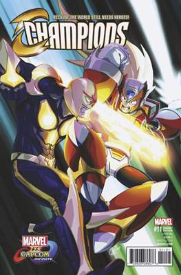 Champions Vol. 2 (2016) Variant Covers (Comic Book) #11.1