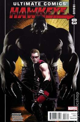 Ultimate Comics Hawkeye (Comic Book) #3