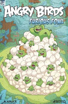 Angry Birds furious fowl (Grapa) #1.1