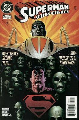 Action Comics Vol. 1 (1938-2011; 2016-) (Comic Book) #754
