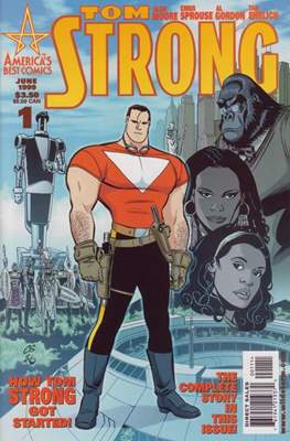 Tom Strong (1999-2006 Variant Cover)