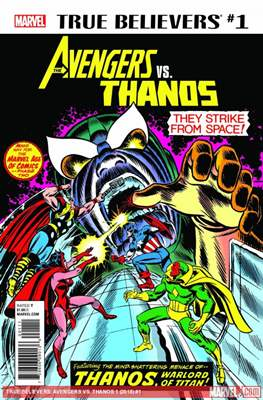 True Believers: Avengers Vs. Thanos