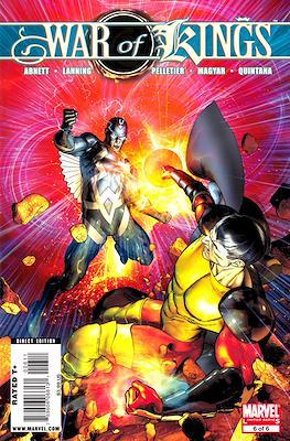 War of Kings Vol 1 (Comic Book) #6