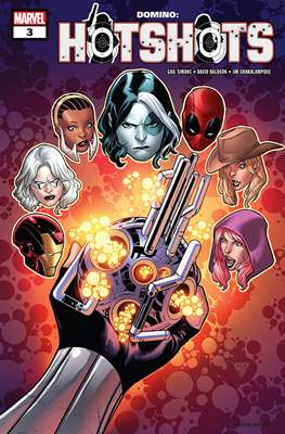 Domino: Hotshots (2019) (Comic Book) #3