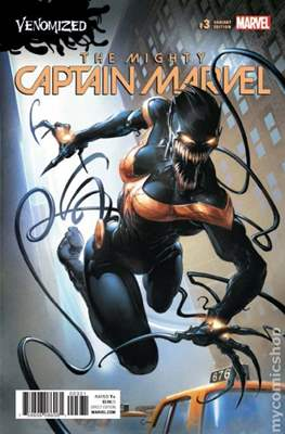 The Mighty Captain Marvel (2017-) Variant Covers #3.2