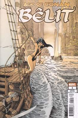 Age Of Conan: Bêlit (2019- Variant Cover) (Comic Book) #1.2