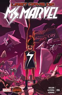 Ms. Marvel (Vol. 3 2014-2015) (Grapa) #16