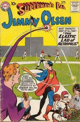 Superman's Pal, Jimmy Olsen / The Superman Family (Comic Book) #37