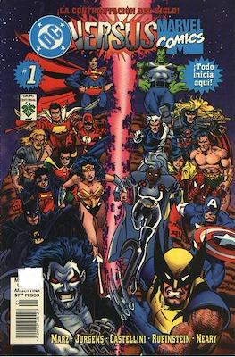 Dc versus Marvel / Marvel versus Dc (Rústica) #1