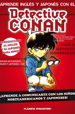 Aprende inglés y japones con el Detective Conan
