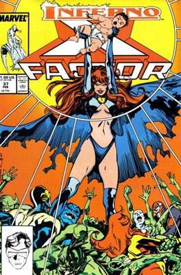 X-Factor Vol. 1 (1986-1998) (Comic Book) #37